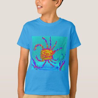 Cool Crab Undersea Art T-Shirt