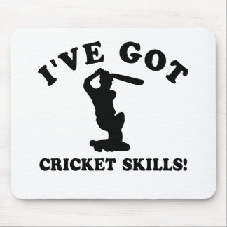 cool cricket designs mouse pad