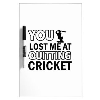 Cool cricketing designs Dry-Erase whiteboards