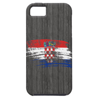 Cool Croatian flag design iPhone SE/5/5s Case