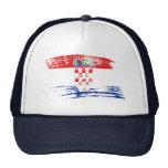 Cool Croatian flag design Trucker Hat