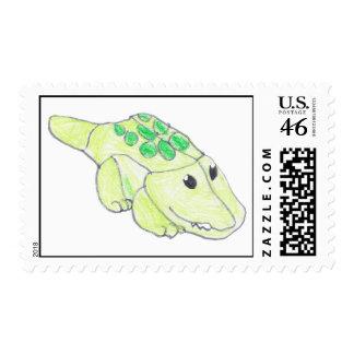 Cool Crock Postage Stamp