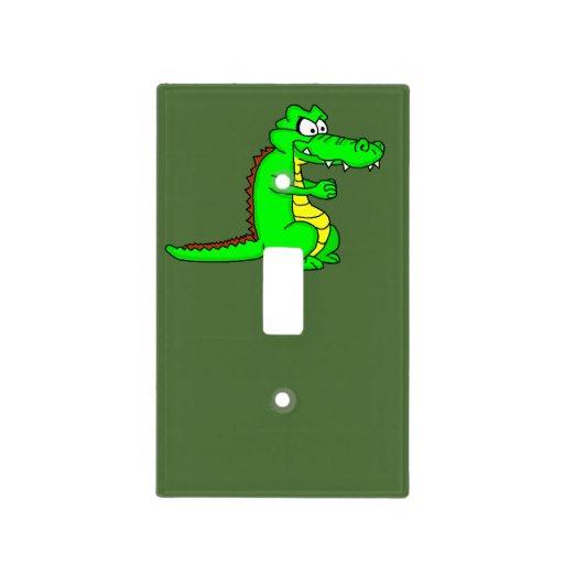 Cool Crocodile Design Light Switch Cover Zazzle