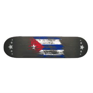 Cool Cuban flag design Skateboard Deck