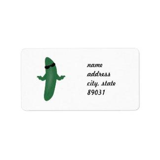 Cool Cucumber Label