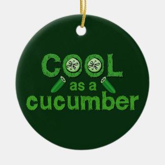 Cool Cucumber ornament