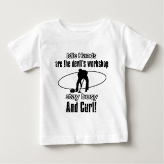 Cool curling designs baby T-Shirt
