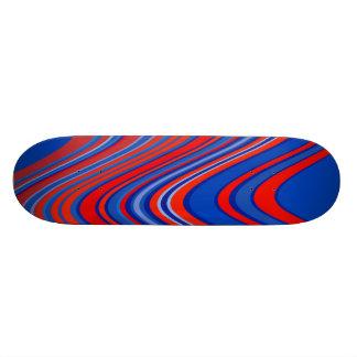 Cool curves skateboard deck