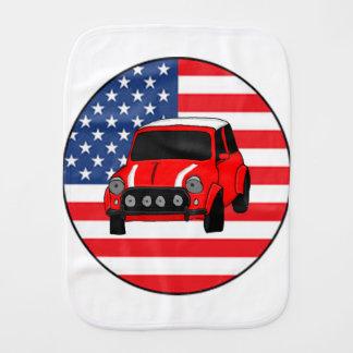 Cool custom car burp cloth