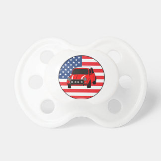 Cool custom car pacifier