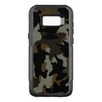 Cool Custom Color Brown Camo Camouflage Pattern OtterBox Commuter Samsung Galaxy S8  Case