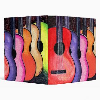 Cool Custom Guitar Binder! Binder