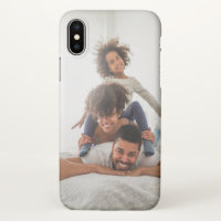 Cool Custom Personal Photo iPhone X Case