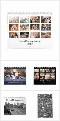 Cool Custom Photography Calendars