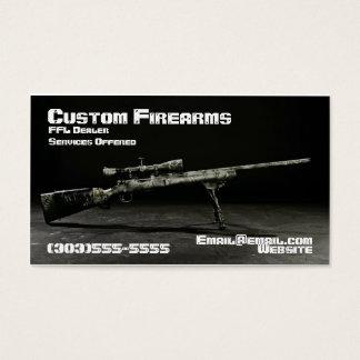 Cool Custom Rifle Business Card