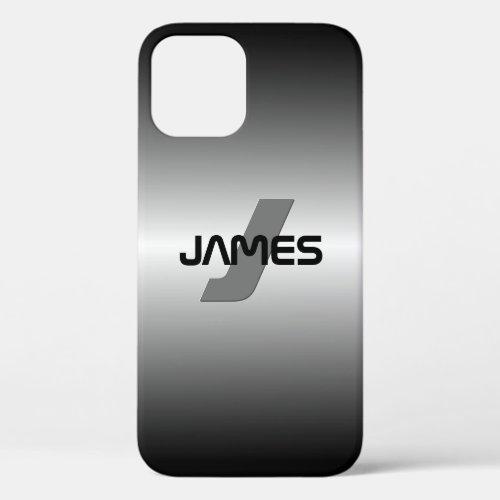 Cool Customizable Name & Monogram Phone Case