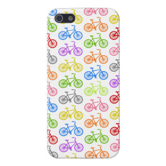 Cool cute bicycle pattern colourful seamless cases for iPhone 5