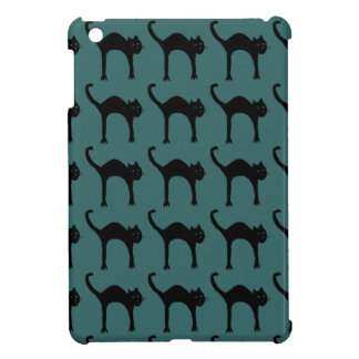 cool cute black cat pattern cover for the iPad mini