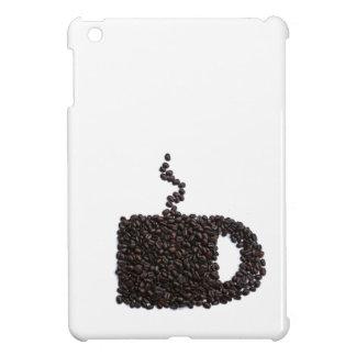 Cool Cute Coffee Cup Monogram Java Mug Initial Cover For The iPad Mini