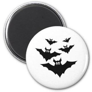 Cool cute Halloween bats magnet