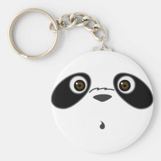 cool cute Panda illustration design by Kanjiz Keychain