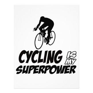 Cool Cycling designs Custom Letterhead