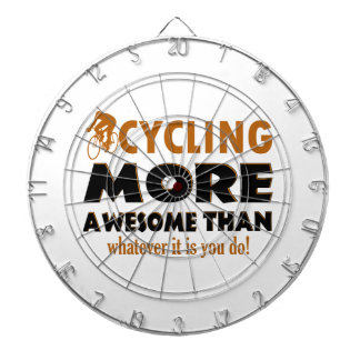Cool cycling designs dart boards
