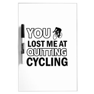 Cool cycling designs Dry-Erase board