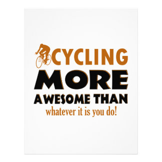 Cool cycling designs letterhead