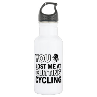 Cool cycling designs water bottle