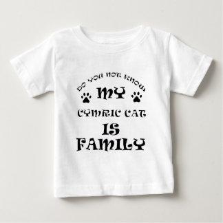 Cool CYMRIC CAT designs Baby T-Shirt