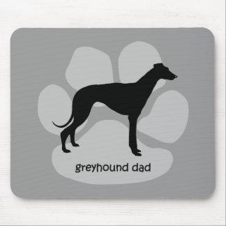 Cool dad greyhound mousepads