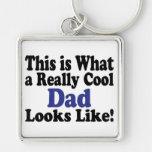 Cool Dad Keychain