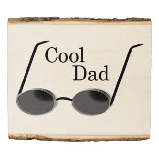 Cool Dad Wood Panel