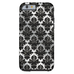 Cool Damask Glitter iPhone 6 Case