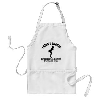 Cool dancehall dance designs adult apron