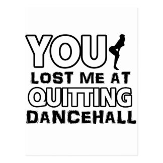 Cool Dancehall dance designs Postcards