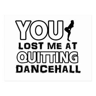 Cool Dancehall dance designs Post Cards