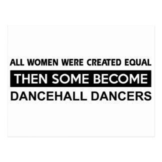 Cool Dancehall Dancing designs Postcards