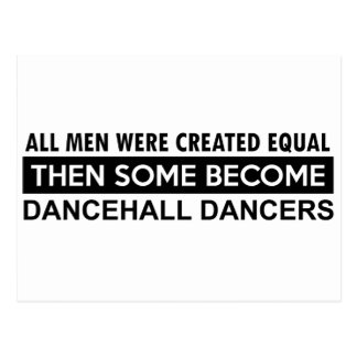 Cool dancehall designs post cards