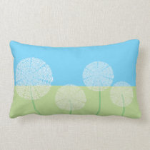 Cool Dandelion Design Lumbar Pillow
