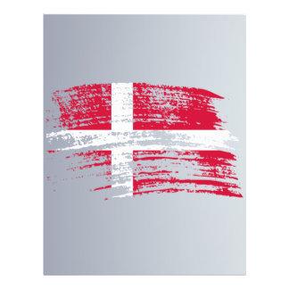 Cool Danish flag design Flyers