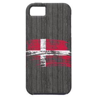 Cool Danish flag design iPhone SE/5/5s Case