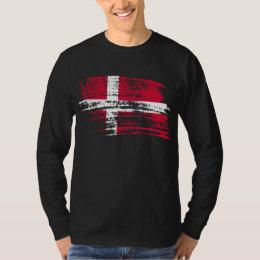Cool Danish flag design T-Shirt