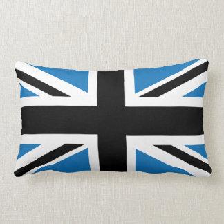 Cool Dark Blue Union Jack British(UK) Flag Lumbar Pillow