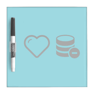 Cool Database Deletes Dry Erase Whiteboard