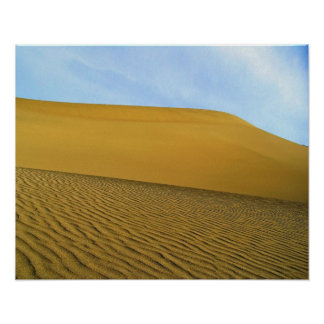 Cool Death Valley Dunes Poster