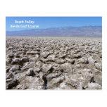 Cool Death Valley Postcard! Postcard