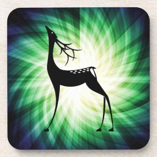 Cool Deer Beverage Coaster