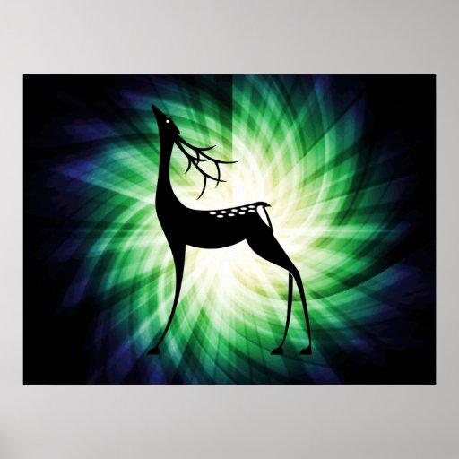 Cool Deer Posters